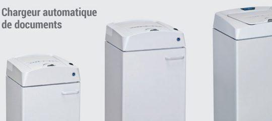 Destructeur de documents automatique
