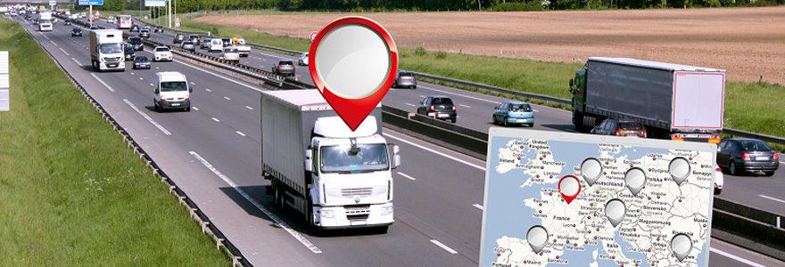 géolocalisation de flotte de véhicule